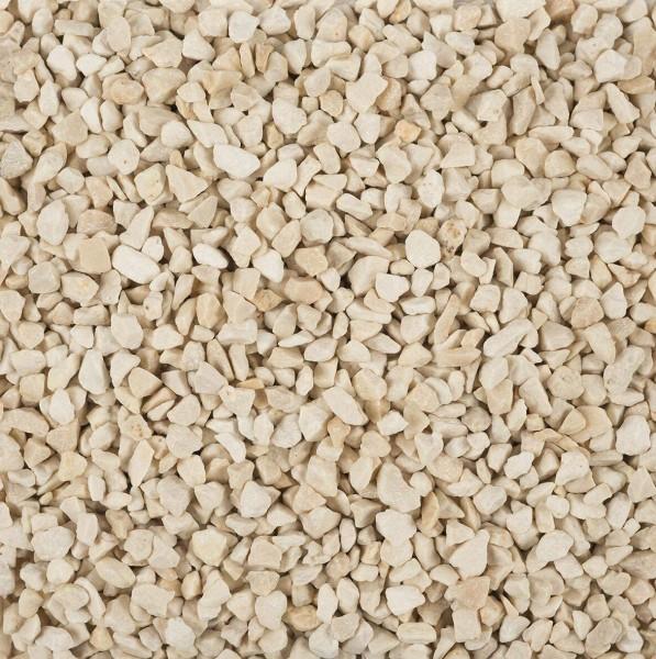 Dekogranulat/Dekosteine (2-3 mm), 1 kg, Farbe Creme, warme Farbe, wasserfest, staubfrei