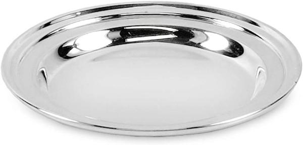 SALE Untersetzer Flaschenuntersetzer Faden, schwerversilbert, Durchmesser 11 cm
