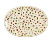 Taitu NOEL Platte oval 30x22 cm