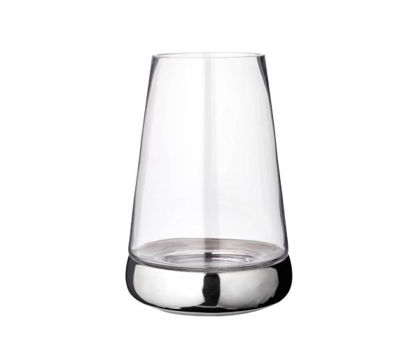 2. Wahl Windlicht Kerzenglas Bora, Glas und Keramik, Höhe 31 cm