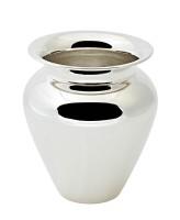 Vase Antonia, schwerversilbert, Höhe 21 cm, Durchmesser 18 cm, Öffnung Durchmesser 12 cm