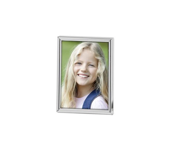 Fotorahmen Bilderrahmen Genua für Foto 6 x 9 cm, edel versilbert, anlaufgeschützt