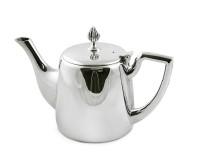Teekanne Cimba, schwerversilbert, Länge 23 cm, Breite 11 cm, Höhe 16 cm, Füllmenge 0,85 Liter