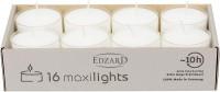 16x Maxiteelichter (transparente Hülle) H 2,5 cm