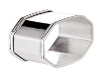 Serviettenring Fadenrand, Echtsilber 925/000, achteckig, Länge 5 cm, Silbergewicht 30 Gramm