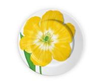 TAITÙ FREEDOM Teller flachØ27 cm, gelbe Blüte