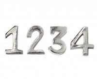 Kerzenpin Advent 1-4, H 4 cm als 4er Set