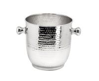 Weinkühler Alto, edel versilbert, anlaufgeschützt, Höhe 22 cm, Durchmesser 20 cm