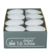 16x Maxiteelicht D 58 mm