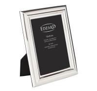 Fotorahmen Florenz für Foto 13 x 18 cm, edel versilbert, anlaufgeschützt, mit 2 Aufhängern