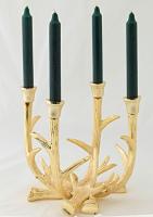Adventskranz Kingston Gold H 22 cm