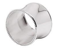 2. Wahl 4er Set Serviettenringe Perla, edel versilbert, anlaufgeschützt, Durchmesser 5 cm
