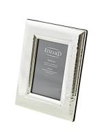 Fotorahmen Positano, gehämmert, für Foto 10 x 15 cm, edel versilbert, anlaufgeschützt, 2 Aufhänger