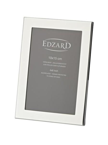 Fotorahmen Prato für Foto 10 x 15 cm, edel versilbert, anlaufgeschützt, mit 2 Aufhängern