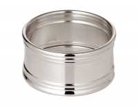 Serviettenring Inglese, rund, Durchmesser 4,5 cm, Echtsilber 925/000, Silbergewicht 26 Gramm