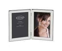Doppel-Fotorahmen Salerno für 2 Fotos 13 x 18 cm, edel versilbert, anlaufgeschützt