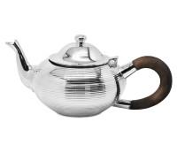 Teekanne Ashford, schwerversilbert, Länge 25 cm, Breite 13 cm, Höhe 12 cm, Füllmenge 0,85 Liter