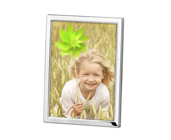 Fotorahmen Bergamo, für Foto 13 x 18 cm, edel versilbert, anlaufgeschützt, mit 2 Aufhängern