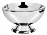 Champagnerkühler Sektkühler Cadiz, Edelstahl hochglanzpoliert, doppelwandig, Durchmesser 43 cm