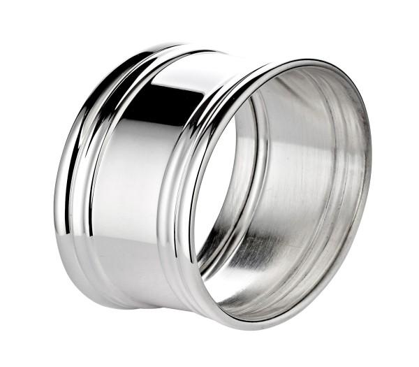 Serviettenring Fadenrand, Echtsilber 925, oval, Länge 5 cm, Silbergewicht 25 Gramm