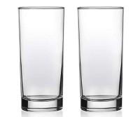 2er Set Trinkglas Wasserglas, Höhe 13 cm, Durchmesser 6 cm, Inhalt 300 ml, spülmaschinenfest