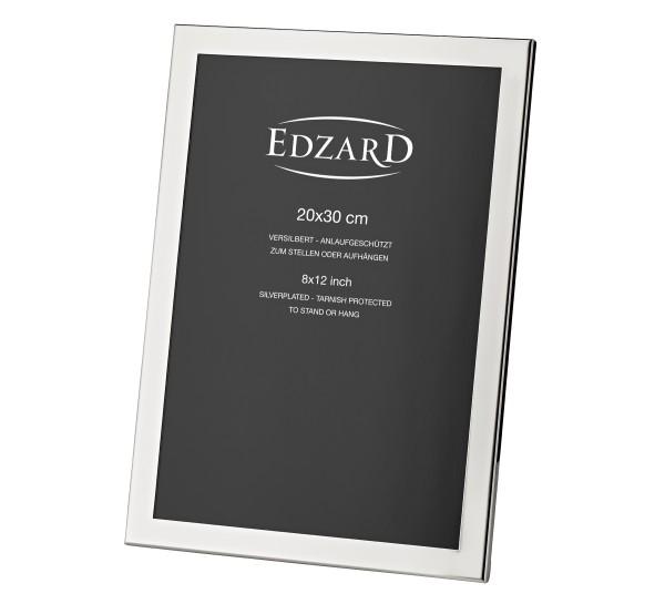 Fotorahmen Prato für Foto 20 x 30 cm, edel versilbert, anlaufgeschützt, mit 2 Aufhängern