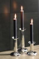 Leuchter Farol, versilbert, anlaufgeschützt, Höhe 11 cm
